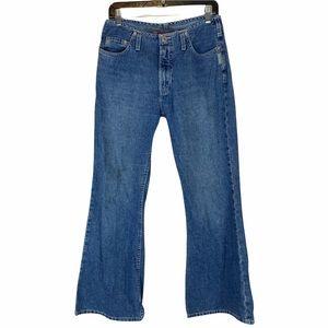 Vintage Y2K Silver Flared Jeans